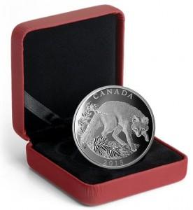 Skarbnica Narodowa moneta Lis Szary