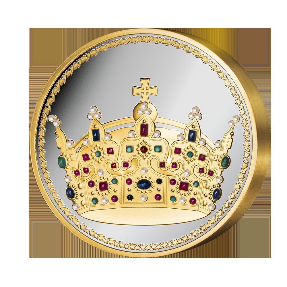 Wyjątkowy medal, upamiętniający legendarną koronę Bolesława Chrobrego.